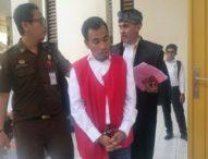 Selundupan Setengah Kilo Sabu, Petani Asal Aceh Dituntut 17 Tahun Penjara