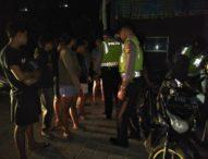 Patroli Gabungan Polresta Denpasar Amankan 13 yang Diduga Anggota Geng Motor