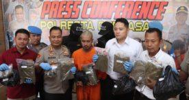 Simpan Ganja 7,6 Kilo, Pria Asal Banyuwangi Ini Diciduk Polisi