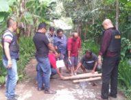 Satgas Represif Ops Cipkon Agung 2019 Amankan Meriam Bambu di Tembuku