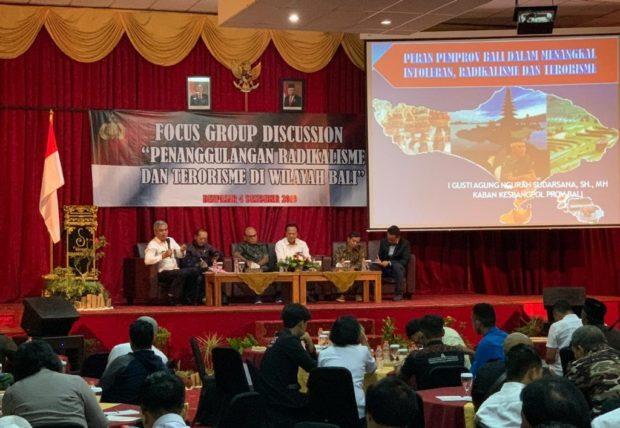 Diskusi Penanggulangan Radikalisme Akan Bentuk Pengamanan Khusus di Bali