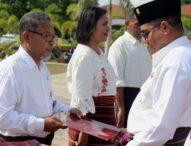 Tiga ASN Flotim Dapat Penghargaan Presiden RI
