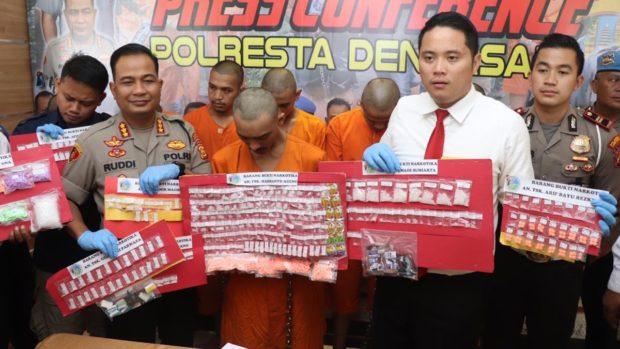 Polresta Denpasar Amankan 11 Bandar Narkoba dalam Dua Pekan