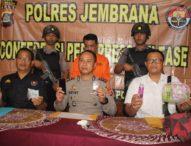 Polres Jembrana Gelar Press Release Pengungkapan Kasus Narkotika