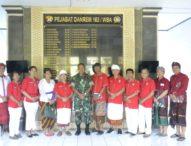 Danrem  Terima Audiensi Perhimpunan Indonesia Tionghoa (INTI) Provinsi Bali