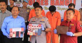 Dalam Sehari Tiga Pelaku Narkoba Ditangkap Polres Bangli