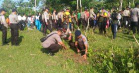 Pemkab Jembrana Bersama TNI/Polri Laksanakan Penghijauan di Kembangsari