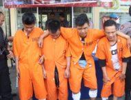 Empat Pelaku Diamankan Polsek Denpasar Selatan