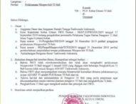 Tanpa Rekomendasi dan Kehadiran dari PB TI, Sugiartha Sebut Musprovlub Tidak Sah