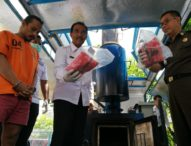 BNN Bali Musnahkan 28 Kilogram Ganja Kering Asal Aceh
