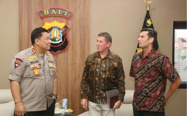 Kapolda Bali Terima Kunjungan Dari Australian Federal Police