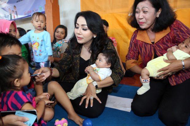Peduli Kesehatan Bayi, Dinkes Denpasar Berikan Vitamin A Serentak di Bulan Februari