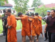 Operasi Antik 2020, Polres Bangli Amankan 6 Pelaku Narkoba