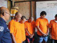 Satnarkoba Polres Badung Kembali Ciduk Lima Pelaku Tindak Pidana Narkotika