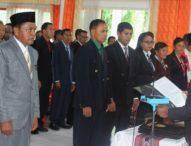 Wabup Flotim Lantik 154 Pejabat Satuan Pendidikan
