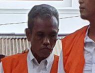 Simpan 4 Paket Sabu, Sopir Taksi Dituntut 7 Tahun Penjara