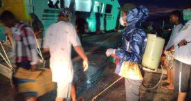 Kapal SN Turunkan 52 Penumpang di Solor,Tim  Pencegahan  Covid-19 Siaga