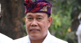 Sekda Rai Iswara Tinjau Pelaksanaan Rapid Tes di Desa Padang Sambian Klod