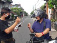 Banjar Binoh Kaja Tindak Tegas Warga Keluar Rumah Tanpa Masker