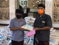ASN Kota Denpasar Sumbangkan 6 Ton Beras Bagi Masyarakat Terdampak Covid-19