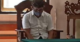 Korupsi Upah Pungut, Perbekel Pemecutan Kaja Dituntut  16 Bulan
