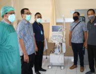 Pemkot Denpasar Terima CSR APD dan Ventilator dari PT. Tower Bersama Group