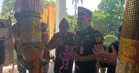 Kajati Bali Resmikan Lobi Kejari Denpasar Ditengah Pandemi Corona