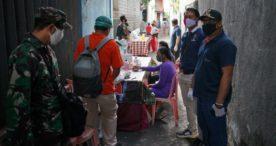 Satu Warga Dinyatakan Positif, 75 Warga Jalan Gunung Salak di Rapid Tes