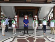 Pemkot Denpasar Terima Bantuan Puluhan Wastafel Portable dari BPD Bali
