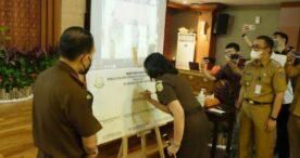 Kejari Denpasar Gelar Acara Pencanangan Zona Integritas Menuju WBBM
