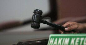 Hakim Vonis Pria Pengangguran Pengedar Sabu 11 Tahun dan 6 Bulan Penjara