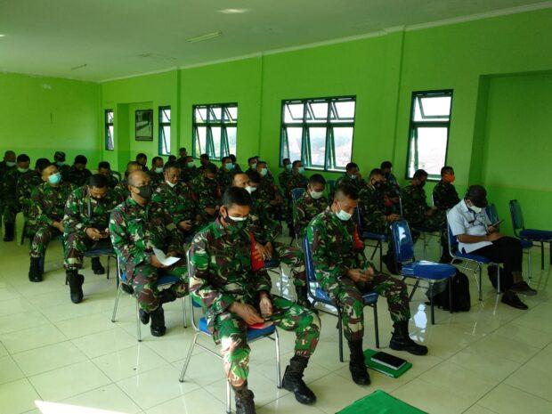 Lacak Kontak Erat Covid-19   Korem 163 WSA Tugaskan 1000 Prajurit