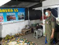 Pemantauan PPKM ,2 Orang Dibina Tim Yustisi Kota Denpasar