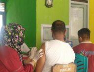 Vaksinator PKM Ritaebang Kembali Suntikan 35 Vial Sinovac