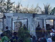 Terjabak Api,Tiga Penghuni Rumah Di Waibalun-Flotim,Tewas Mengenaskan