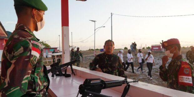 Pimpinan Kodam IX/Udayana Hadir Berikan Motivasi di Pulau Terluar NKRI