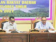 Sodorkan Dokumen Baru, Anggota Gabungan Komisi DPRD Flotim Desak Hentikan Rapat, Palu Pimpinan 'Digugat'